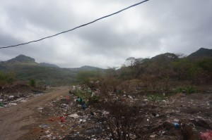 This was near the entrance of the dumps. Most of the trash was in piles at the heart of the dump.