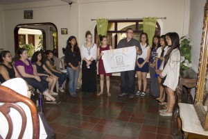 Group 2 detailing the actions to be put into effect when painting the entrance of the orphanage.