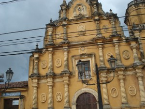 This is one of the 17 churches in Leon.