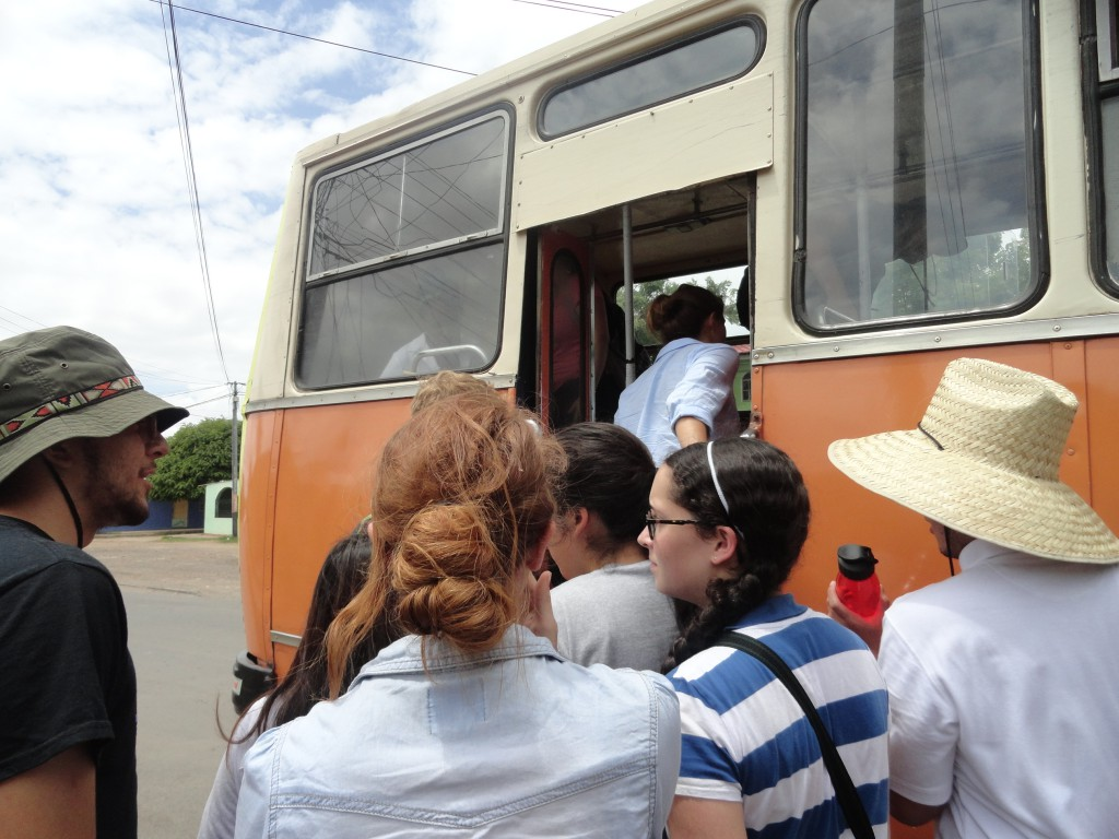 Boarding the Bus
