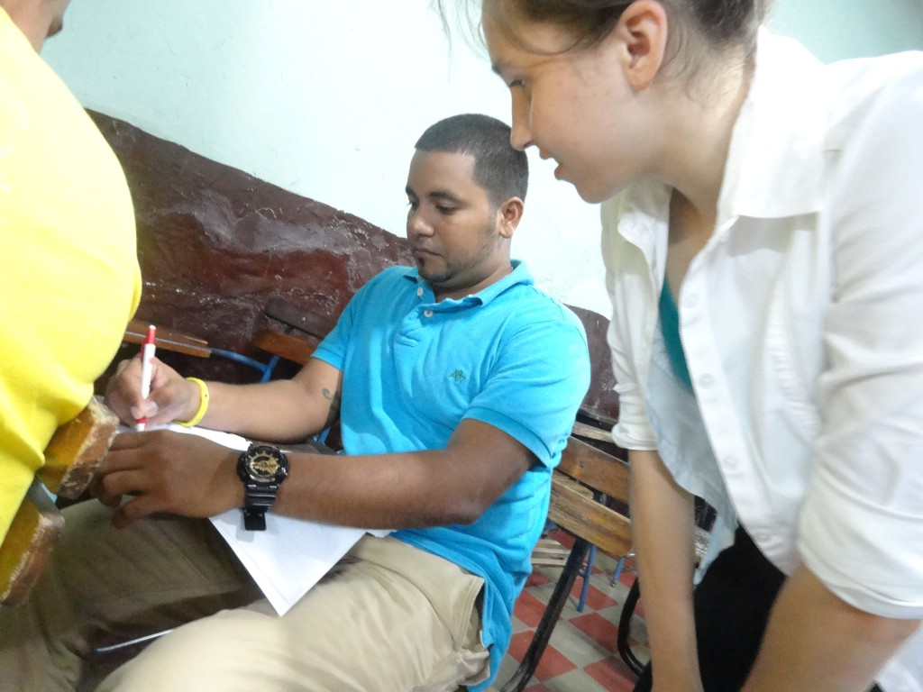 Whenever a student needs help, Glimpser Maria is there to help