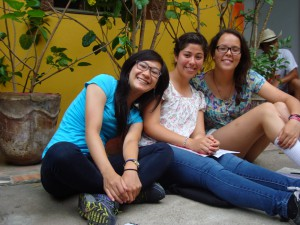 Vivian,Maria and Olivia Grace
