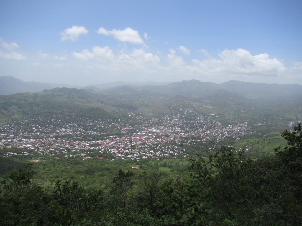 View of Matagalpa from Cerro Apante