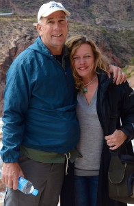 My husband and I in Peru, last summer.