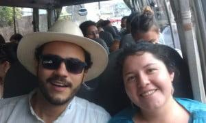 Your team in Ecuador: Fernanda and Héctor