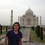 at Taj Mahal