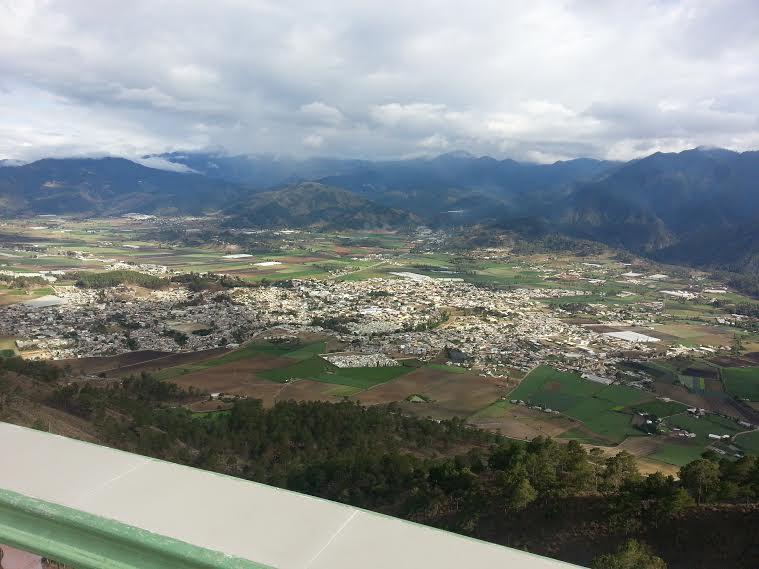 View from El Divino Niño (Constanza, Dominican Republic)