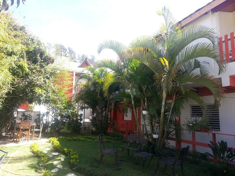 Dilenia's is the hotel and restaurant where you will all be staying during your 3 weeks in Constanza.