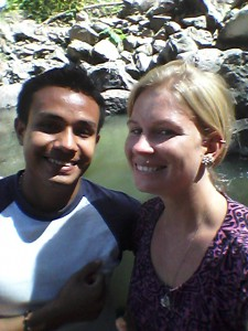 Denis and Chelsea at Cascada Blanca