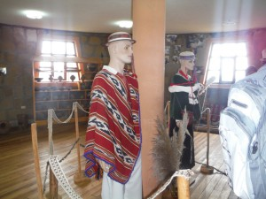 Indigenous Clothes in the museum