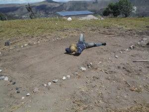 Caleb enjoying the level ground