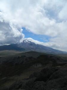 Chimborazo from afar