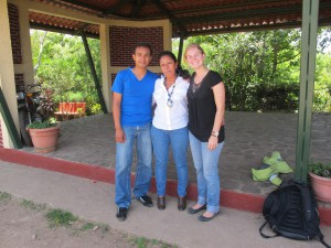 Doña Sonia and our wonderful GG Program Coordinators Chelsea and Dennis.